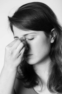 Women with Sinus Pain